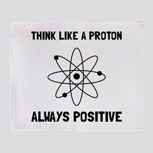 Proton Always Positive Throw Blanket